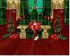 Christmas throne
