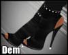 !D! Black Heels
