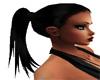 {CJ}SHIRA black ponytail
