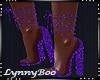 *Iris Purple Heels