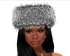 Grey Fur Hat
