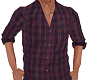 TF* Purple Plaid Shirt