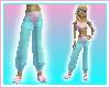 Pnk/Aqua Genie Pants