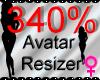 *M* Avatar Scaler 340%