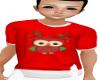 Child Christmas Owl Tee