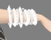 pure white bracelets