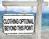 Old Island Beach Sign