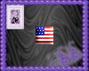 US Bling Sticker