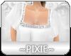 |Px| White Tunic