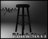 *MV* Black Stool Chair