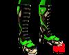 Green Racing Boots