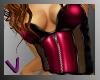 [ves]corset dark pink