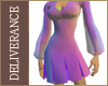 DN CSD Pleated Minidress