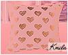 |K 🎀 Hearts Pillow