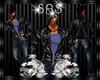 [SAS] Leather Jacket blu