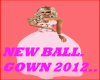 NEW BALL GOWN 2012..
