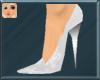 ! White Flower Stilettos