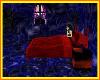 Lil blue/red bedroom