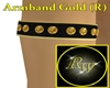 Arm Band Gold (R)