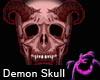 Demon Skull Pierced