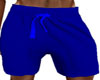 Blue Gym Boy Shorts