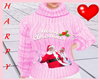 H&Pink Christmas Sweater