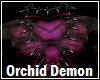Orchid Demon Necklace