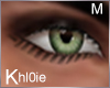 K green eyes M