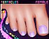 ⭐ Pedicure Lilac