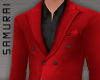 #S Solid Suit A #Rouge