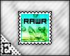 [E] Rawr Stamp
