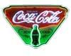 vintage cola sign