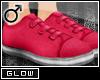 #Velcro Flats-Pink[M]#