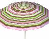 StripePink Pool Umbrella