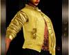 ~O~ Gold Biker's Jacket