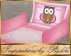 I~P*Owl Pram Bed Set