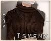 [Is] Turtleneck Brown