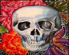 Art Flower Skull