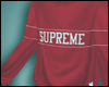 Supreme Crewneck Red