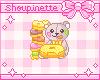 Bear loves donuts