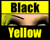 Black Yellow Eyebrows