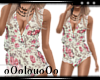 .L. Pink Floral Playsuit