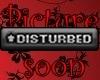 Sticker/Disturbed