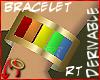 [m] Baguette Bracelet RT