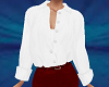 TF* White Tucked Blouse