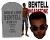 BENTELL HEADSTONE