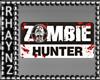 Zombie Hunter HP Sticker