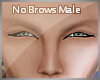 fMale No Brows
