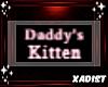 Badge: Daddy's Kitten