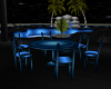 G.Blue Table With Chairs